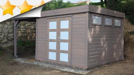 Montage et traitement d 39 une cabane bois scs multiservice - Cabane jardin ikea saint etienne ...