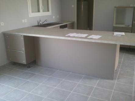 pose d 39 une cuisine neuve scs multiservice. Black Bedroom Furniture Sets. Home Design Ideas
